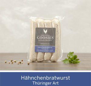 Hähnchenbratwurst Thüringer Art