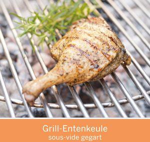 Grill-Entenkeule