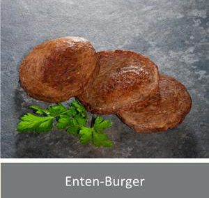 Enten-Fleisch-Burger